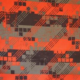 Дизайн 300Д ПВХ CSE 070 абстракц. красно-корич.
