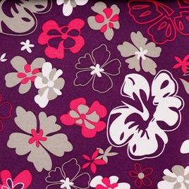 Дизайн 300Д ПВХ 208 purple цветы на фиолет