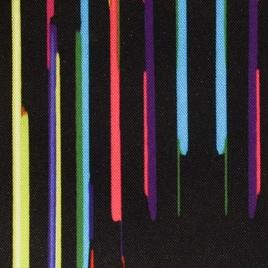 Дизайн 300Д ПВХ #17 радуга на черн фоне