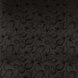 Материал  SPONGE PVC 1014 №1 черный образ сердца