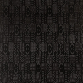 Материал  SPONGE PVC 1494 черн №2 бесконечность