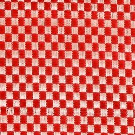 Материал  SPONGE PVC 1566 плетенка бел-красн