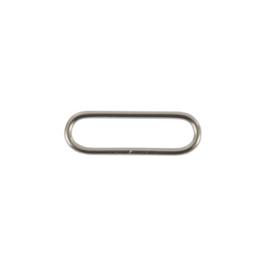 Рамка 40мм никель 2,5мм