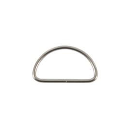 Полукольцо 30мм никель 2,5мм