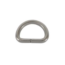 Полукольцо 15х10мм (2,7мм) никель