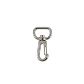 Карабин К 3721 (16мм) никель роллинг