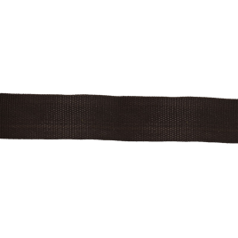 Лента-тесьма 450Д 22мм 322 черн 4 гр/м