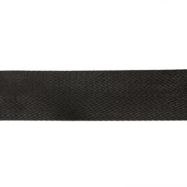 Лента ранц 40мм 322 черн елочка-2 42гр/м