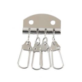 Ключница А 022 ник (4 ключа)