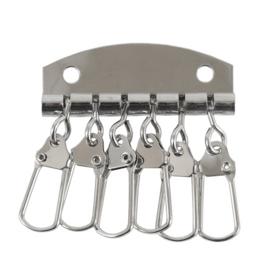 Ключница А 022 никель полир (6 ключей)