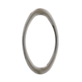 Ручкодержатель 1881 (овал) никель 32*55 мм