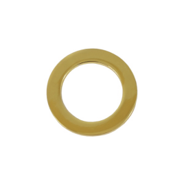 Ручкодержатель 453 (кольцо литое) антик полир 25 мм