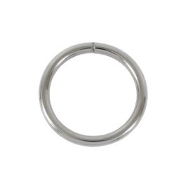Ручкодерж №3(кольцо) разъемн никель роллинг 3,8/31,4/39мм