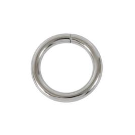 Ручкодерж №3(кольцо) разъемн никель роллинг 6/31,4/41,4мм