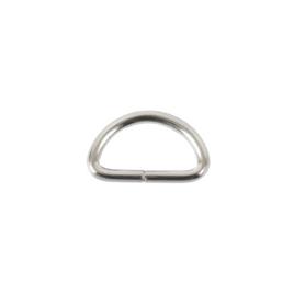 Полукольцо 15мм (2,0мм) никель