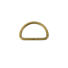 Полукольцо 35х20мм (3,5мм) антик роллинг