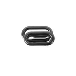 Люверс овальный 19мм блек ник роллинг