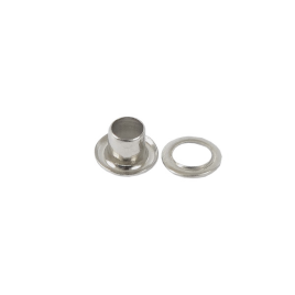 Люверс круглый 3/6мм никель роллинг