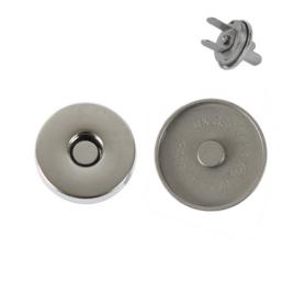 Магн,кнопка ЕВ-01 14мм мат/никель роллинг