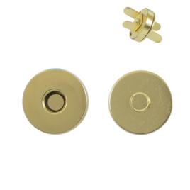 Магн,кнопка 14мм брасс роллинг