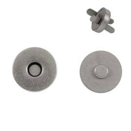 Магн,кнопка 18мм мат/никель роллинг