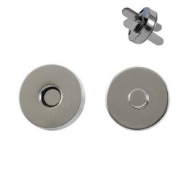 Магн,кнопка 18мм никель )