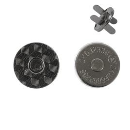 Магн,кнопка №12 18мм бл/ник плоская