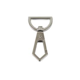Карабин 16480 19мм никель полир