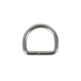 Полукольцо 12х10,4 мм (1,88мм) никель роллинг