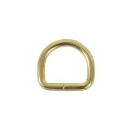 Полукольцо 15х13 мм (2,8мм) брасс роллинг