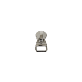Бегунок 763 никель полир тип 5 на метал молнию   (17871)