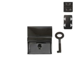 Замок SX162 (С 038 Z) блек никель полир