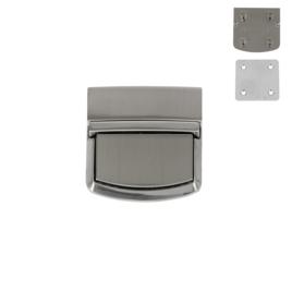 Замок YC 643 никель браш