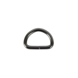 Полукольцо 25х16мм (4мм) блек ник ролл