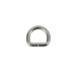 Полукольцо 20х13мм никель 4мм