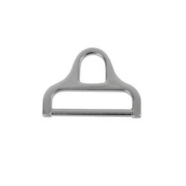 Ручкодержатель XB-0683 (пластина#2222) 38,4мм браш никель