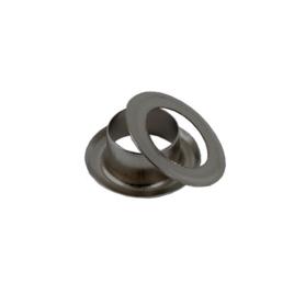 Люверс d=8мм круглый 8/13,8 мм  бл/ник