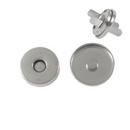 Магн,кнопка ЕВ-01 18мм ник