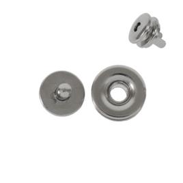 Магнитная кнопка HCY14 никель полир