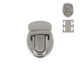 Замок C 964-1 никель браш полир