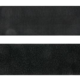 Велькро 100 мм 322 черн нейлон