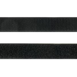 Велкро  25 мм 322 черн N (Нейлон)