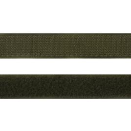 Велкро  25 мм 327 хаки N (Нейлон)