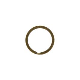 Кольцо для ключей В 38 d=28мм (BSQ d внутр=23мм/наружн=28мм) антик роллинг