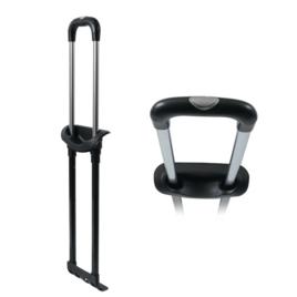 """Телега G4388-2 22""""  блек/никель (кнопка мат/ник)"""
