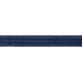 Бейка тесьма окантовочная 22мм т.синяя 227