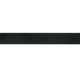 Лента ранц 25мм елочка-4 322 черн (тип 25.44) Р