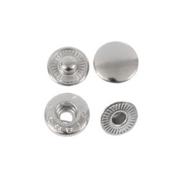 Кнопка галант 15мм никель роллинг