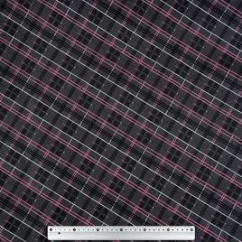 Дизайн 300Д ПВХ CSВ 4384 Клетка сер/роз/бел
