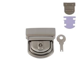 Замок КА 0554 А (С 081 Z) никель браш полир